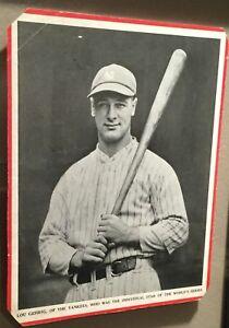 1930's Baseball Magazine Trimmed Lot Of 6   Originals   ARN318471*6B Lou Gehrig