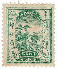 (I.B) China Local Post : Amoy ½c