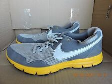 Nike LiveStrong Women's 414560-008 gray & yellow athletic shoes size 9.5