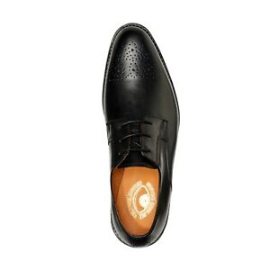 Mens Goodyear Welted Genuine Leather Shoes by Carlos Santana® Derby