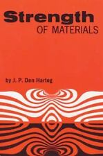 Dover Books on Physics: Strength of Materials by J. P. Den Hartog (1961, Paperba