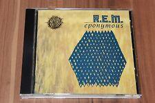 R.E.M. - Eponymous (1988) (CD) (I.R.S. Records – 466338 2)