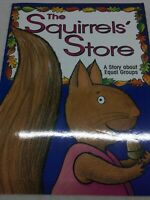 THE SQUIRRELS STORE EQUAL GROUPS MATH  Big Teacher Book Big Book PB Day Care