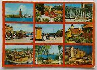 Stockholm 9 Views 1980 Postcard (P300)