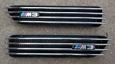 Original BMW e46 M3 Nieren Lufteinlässe Kiemen M-Tecknik Luftführung Ziergitter