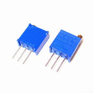 3296 Multiturn Precision Variable Resistors Potentiometer Pot Trimmer 10-2M ohm