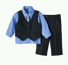 Great Guy Baby Pinstripe Vest Shirt Pants 3 Piece Set 12 Months NWT