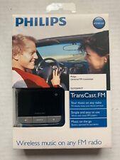 PHILIPS TRANSCAST FM UNIVERSAL FM TRANSMITTER DLV92009/17, WIRELESS MUSIC, NEW