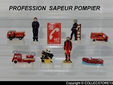 SERIE COMPLETE DE FEVES PROFESSION SAPEUR POMPIER 2019