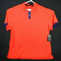 Nike Mens Size XXL Red Dri-Fit Short Sleeve Polo Shirt New $65