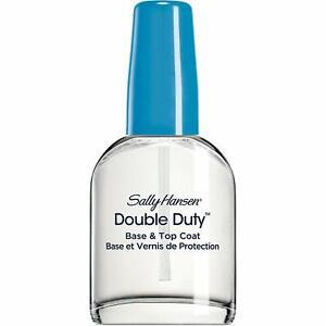 SALLY HANSEN - Double Duty Base and Top Coat - 0.45 fl. oz. (13.3 ml)