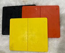 The Ultimate Martial Arts Rebreakable Boards x3 - YELLOW, BLACK & ORANGE