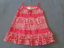 Target Cute Little Girls Pink and White Dress, Size 00