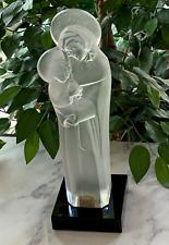 Lalique Vierge a L'Enfant (Madonna with Child) Signed, Authentic, & Mint