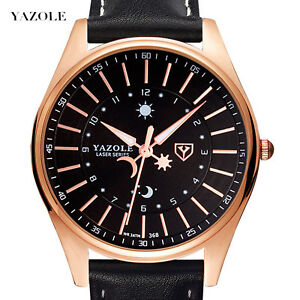 Mens Sport Watches Waterproof Quartz Watch Casual Wristwatch Luminous Pointer