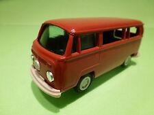 GAMA MINI VW VOLKSWAGEN T2 VAN - RED 1:42 - EXCELLENT