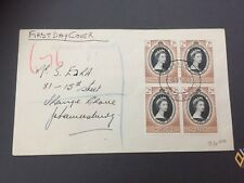 Luftpost Airmail Brief Swaziland South Africa Mbabane nach Johannesburg SA 1953