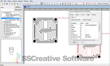 CAD PCB Electronic Printed Circuit Board Schematic Block Drawing Design Software