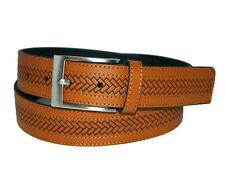 ACQ piel Belt unisex cinturón cinturón de cuero talla 95