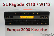 Becker Europa 2000 be1100 casetes radio mercedes r113 SL-clase w113 autorradio