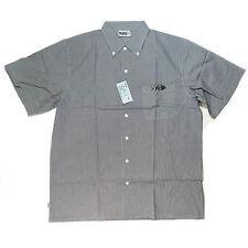 Camisa de hombre manga corta Cuadro en TALLA GRANDE L hasta 3xl 8 COLORES