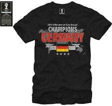 Germany OFFICIAL FIFA World Cup 2014 CHAMPIONS Soccer Jersey Shirt Black M