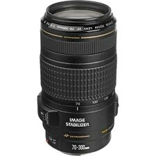 Canon EF 70-300mm F/4-5.6 IS USM Zoom Lens for SLR Cameras NEW