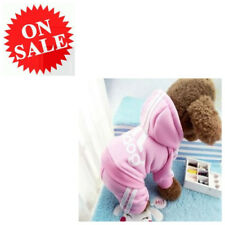 Small Dog Coat New Adidog Winter Warm Pink Puppy Pet Clothes Sweatshirt Sweater