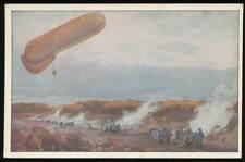 """647900) Zeppelin AK """"Fesselballon unsere Artilleriewirkung beobachtend"""""""