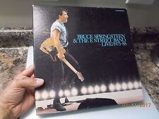 Bruce Springsteen Live 75-85 Box Set w/ Booklet, Complete, Very Good+ Condition