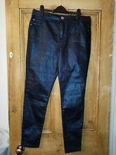 F&f Sparkly Blue Trousers / Jeans 14