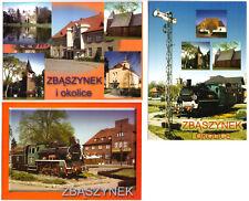 Three AK, zbaszynek i okolice, town views and Railways, um 2000