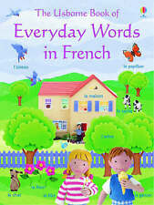 The Usborne Book Of EVERYDAY WORDS IN FRENCH  -  New