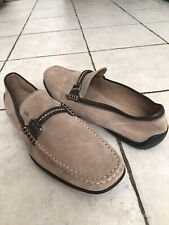 NEW Tod's Gommino SuedeLoafer / Moccasins Driving Shoes made in Italy size 12