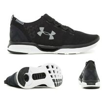 MENS UNDER ARMOUR COOLSWITCH RN BLACK/WHITE TRAINERS (SF2) RRP £89.99