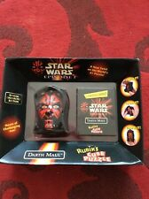 NEW star wars DARTH MAUL RUBIKS CUBE PUZZLE EP1 episode 1 TPM sith 37D