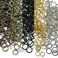 Wholesale Metal Jump Rings Assorted Jewellery Making Size 4/5/6/8/10/12/14/20mm