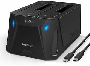 Inateck USB 3.2 Gen 1 Type-C HDD/SSD SATA Hard Drive Docking Station