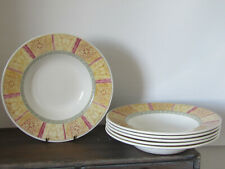 churchill fine english tableware pasta soup dishes x6