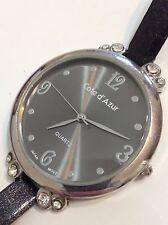 Cote d'Azur Ladies Designer Excellent Condition Working Quartz Watch