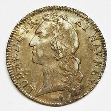 Ecu Louis XV au bandeau 1758 A