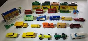 Moko Lesney Matchbox dealers lot AWESOME 26 models and original boxes great deal