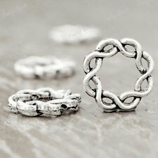 40* FASHION Tibetan Silver Ring Spacers Findings TS1059