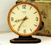 Vintage, Zlatoust watch factory table clock, mechanical, USSR (Soviet) CHBN-137