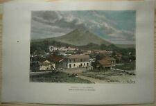 1891 Reclus print ESCUINTLA, GUATEMALA (#32)