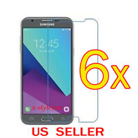6x Clear Screen Protector Guard Cover Film For Samsung Galaxy Amp Prime 2 /Sol 2