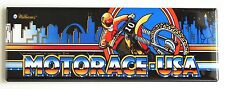 Motorace USA Marquee FRIDGE MAGNET (1.5 x 4.5 inches) arcade ace race motor