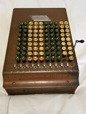 Vintage Antique Comptometer Felt & Tarrant Mfg Chicago Adding Machine