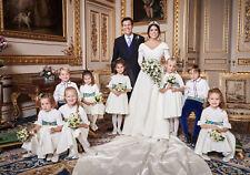 "PRINCESS EUGENIE & JACK BROOKSBANK ROYAL WEDDING KIDS FRIDGE MAGNET 5"" X 3.5"""
