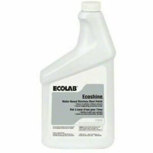 ECO6118440 6118440 Ecolab Ecoshine Stainless Steel Cleaner Case of 6
